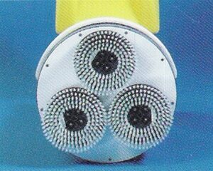 Set of 3 Nylon Brushes with diffuser for the Cimex