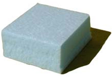 Blue Foam Blocks, Super Heavy Duty. blue blocks