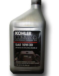 Kohler Command Motor Oil
