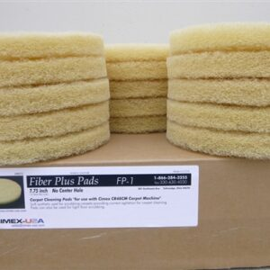 """7 3/4"""" general use cleaning pads for 19"""" Cimex. Also called Champagne pad. QTY 15/case"""