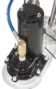 Rotovac360I Motor and Gear Box Assy