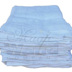 Large White Cotton Towel