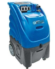 Sniper 6-Gallon Extractor - 100 PSI Pump, Dual 2-Stage Vac Motor with In-Line Heat (Dual Cord)