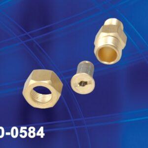 "T-jet holder, w/filter and ck valve 1/4"" NPT"