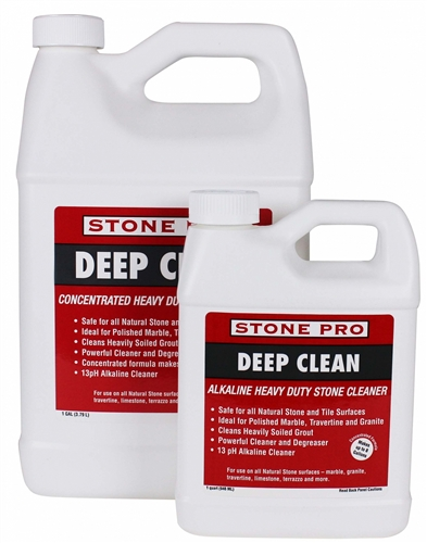 DEEP CLEAN HEAVY DUTY STONE & GROUT CLEANER