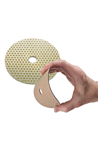 3 ELECTROPLATED PADS