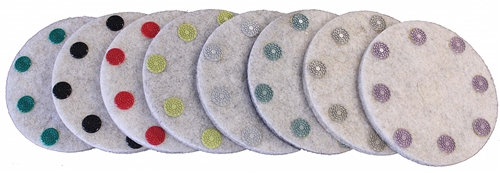 "7"" FLEXIBLE RESIN DOT PADS"