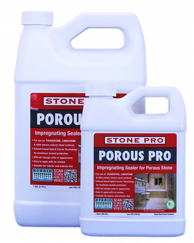 POROUS PRO POROUS SURFACES IMPREGNATING SEALER