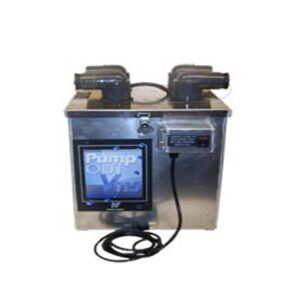 Pump out, dual or single wand 115 volt, 10 gal/min