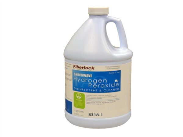 Shockwave Hydrogen Peroxide Disinfectant & Cleaner - Case of 4 Gallons