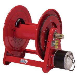 Heavy Duty 12 V DC Motor Driven Hose Reel