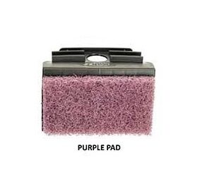 Purple scrub pad