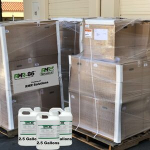 54 Containers of 2.5 Gallon Rapid Mold Remover - Free Shipping