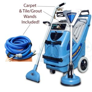 Endeavor 9000I-HSH with carpet wand and tile / grout wand + Hoses