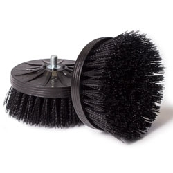 Orbot Micro Black Brush (set of 2) Aggressive scrubbing applications