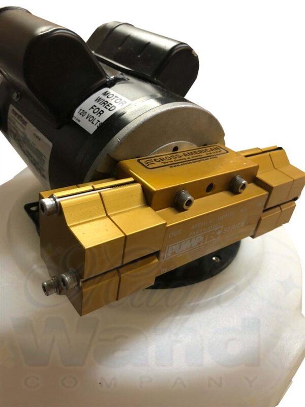 800 psi Jaguar 8.4 pump/motor 120v