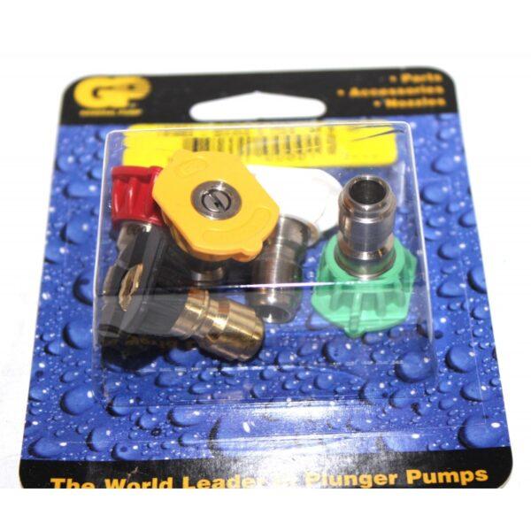 GP QC Pressure Washer Nozzle 5-Pack, #4.0 (8.708-721.0)