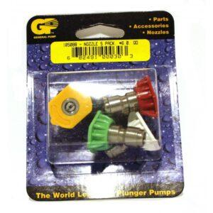 GP QC Pressure Washer Nozzle 5-Pack, #6.0 (8.708-725.0)