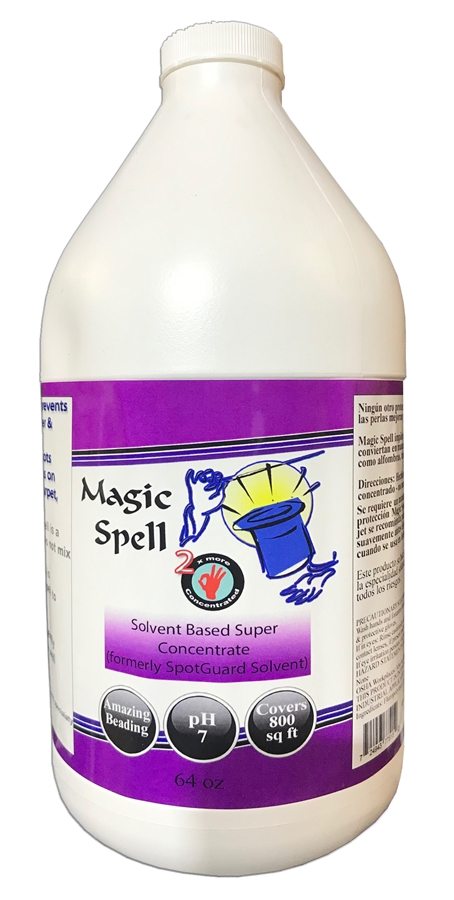 Magic Spell Solvent- Carpet + Tile + Upholstery Protector