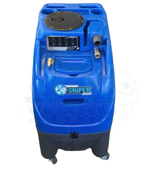 Sandia Sniper 1200 PSI Hard Surface Extractor, 2 & 3 Stage Vacs (w/ Auto-fill & Dump)