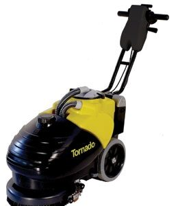 BD 14/4 Compact Cordless Automatic Scrubber Perfect for small spaces!