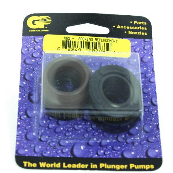 Interpump / General Pump Packing Assembly w/Restop, 20mm, Kit69 (8.702-857.0)