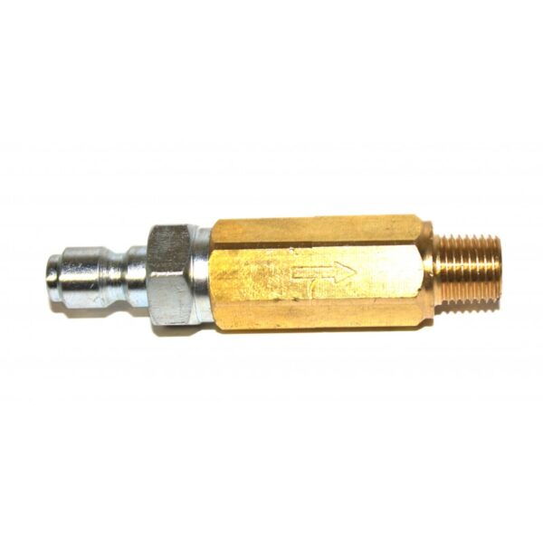 """In-Line High Pressure Nozzle Filter, 1/4"""" QC, Brass (8.709-979.0)"""