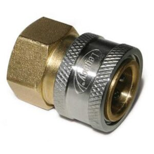 3/8'' FPT Quick Coupler, Brass
