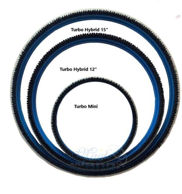 "Turbo Hybrid 12"" Replacement Brush"