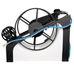 Water Pond 120 Gallon Water Tank w/ Electric Hose Reel