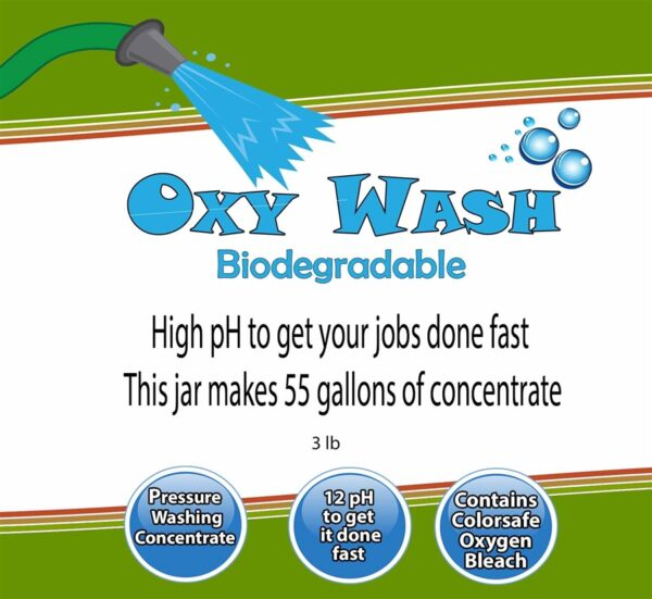 Oxy Wash Pressure Washing
