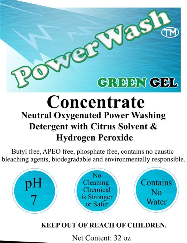 Power Washing Neutral Cleaner