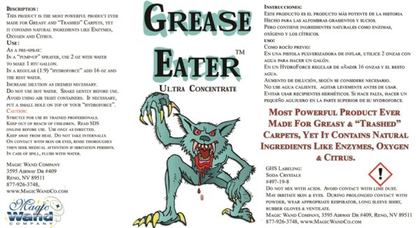 Grease Eater Original Carpet Prespray