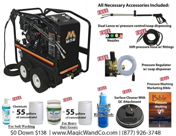Pressure Washer Business Package