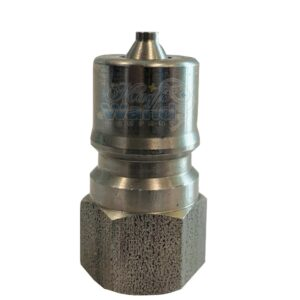 """3/8""""Male quick connector, SS"""