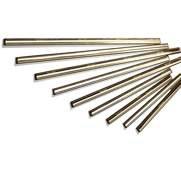 Master Brass Channels with Rubber