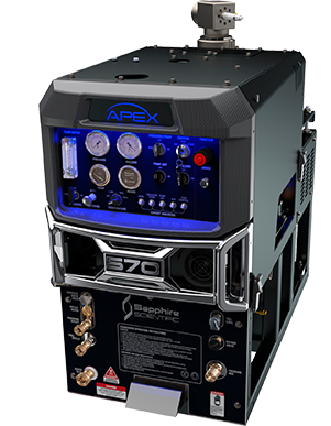Apex 570 with 90 gal. / 341 L waste tank