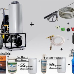 Quick Heat AC 120 Volt Pressure Washer w/ Heat