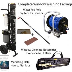 Complete window cleaning package
